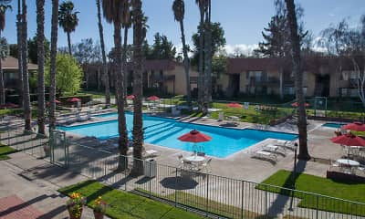 Pool, Valley West Apartments, 0