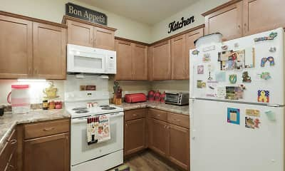 Kitchen, Griner Gardens Apartments, 1
