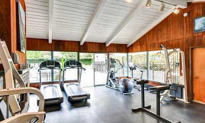 Fitness Weight Room, Fayette Arms, 0