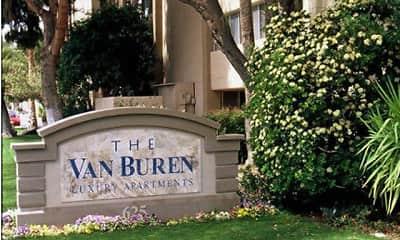Community Signage, The Van Buren, 1