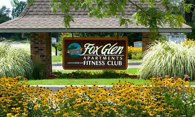 Clubhouse, Fox Glen Apartments and Fitness Club, 0