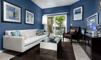 Living Room, Avalon Warner Place, 1