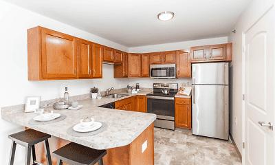 Kitchen, Glenmary Grove Senior Apartments, 2