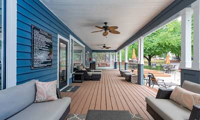 Patio / Deck, Bridges at Chapel Hill, 1