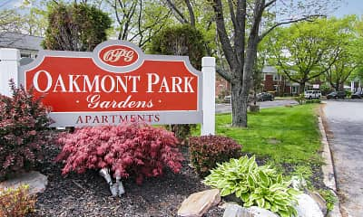 Community Signage, Oakmont Park Apartments, 1