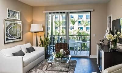 Living Room, Avalon 850 Boca, 1