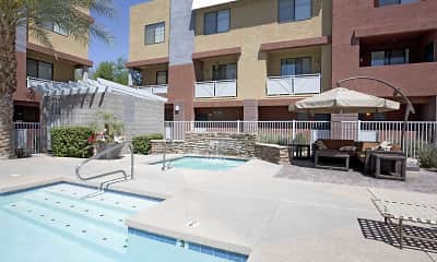 Pool, Pillar at Westgate Townhomes, 2