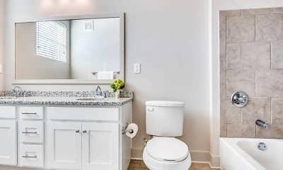Bathroom, The Flats, 2