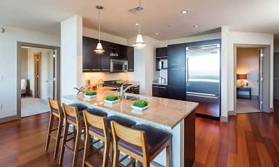 Kitchen, Mezzo Apartment Homes, 1
