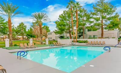 Pool, Country Club at the Meadows 55+, 1