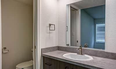 Bathroom, Trails End, 2