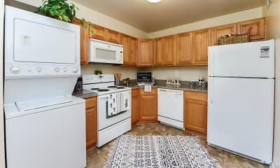 Kitchen, Sherwood Village Apartment Homes, 0