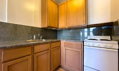 Kitchen, Brooklyn Apartments, 1