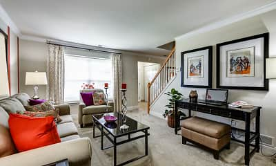 Living Room, Townline Townhomes, 1
