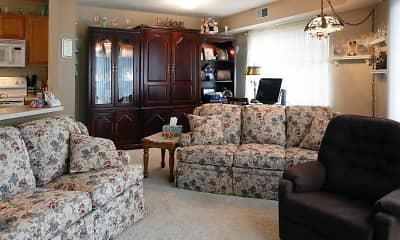 Living Room, River Oak Heights, 1
