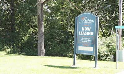 Community Signage, Ashby Apartments, 2