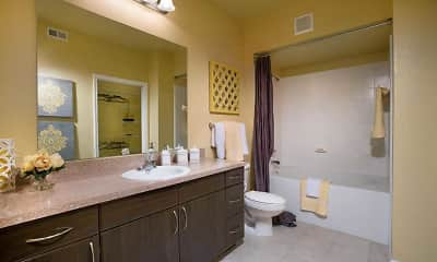 Bathroom, Courtney Bend at New River, 2