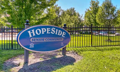Community Signage, Hopeside Senior Community, 2