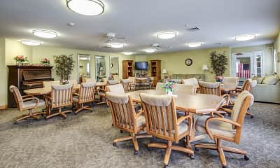 Clubhouse, Hillcrest Senior Apartments, 1