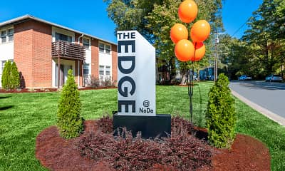 Community Signage, The Edge at NoDa, 0
