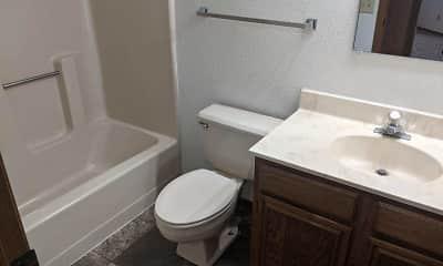 Bathroom, Kirkwood Park Apartments, 2