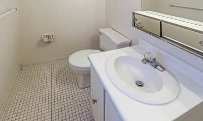Bathroom, Hidden Creek Townhomes and Apartments, 2