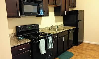 Kitchen, Lofts at 525, 1