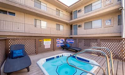 Pool, The Enclave Apartments, 2