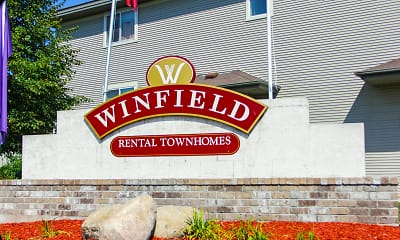 Community Signage, Winfield Townhomes, 2
