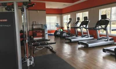 Fitness Weight Room, Haven at Knob Creek, 2