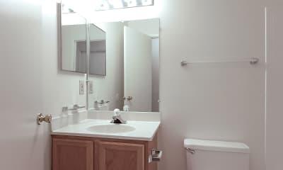 Bathroom, Autumn Woods, 2