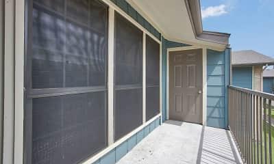 Patio / Deck, Spanish Pueblo, 0