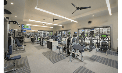 Fitness Weight Room, Crawford At Grand Morton, 1