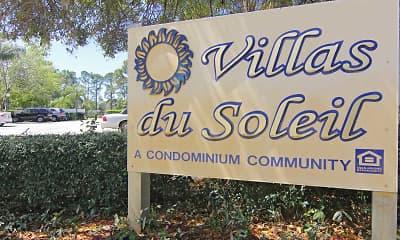 Community Signage, Villas Du Soleil, 2