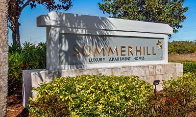 Community Signage, Summerhill Apartments, 1