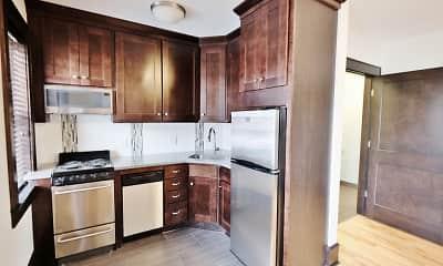 Kitchen, Lilium Apartments, 0