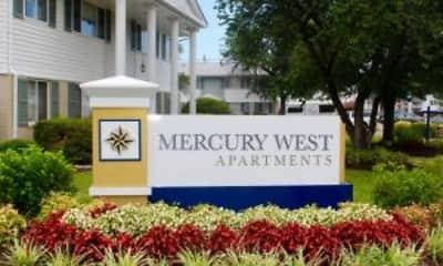 Community Signage, Mercury West Apartments, 0
