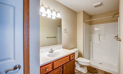 Bathroom, Maple Ridge Villas, 2