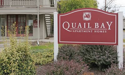 Community Signage, Quail Bay Apartments, 0