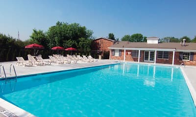 Pool, Mayfair Apartments, 0