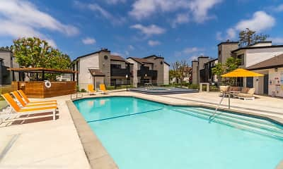 Pool, The Landing at Long Beach, 0