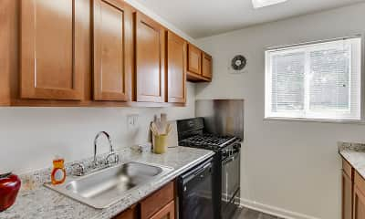 Kitchen, Fairmont Gardens Apartments, 0