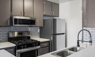 Kitchen, Corbin Terrace Apartments, 1