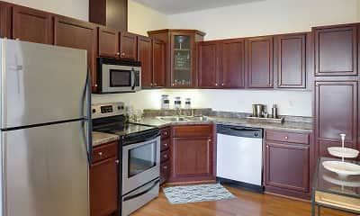 Kitchen, The Gables at Park Pointe, 1