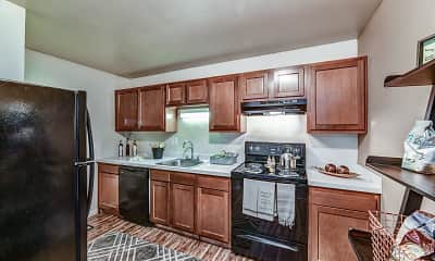 Kitchen, Avalon Place Apartments and Townhomes, 1