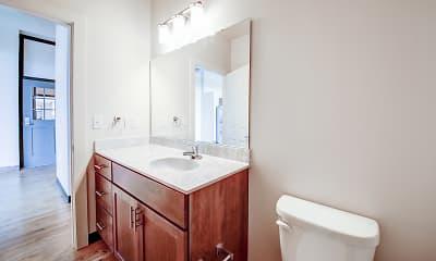 Bathroom, Lyon School Apartments, 2