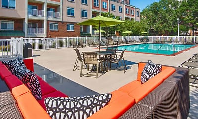 Pool, River Club Apartments, 0