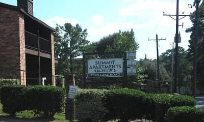 Community Signage, Summit Apartments, 1