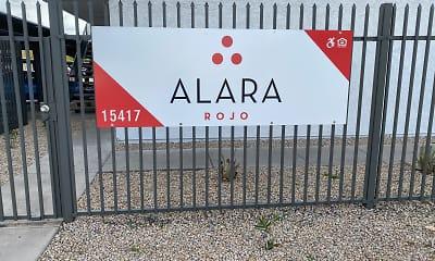 Community Signage, Alara Rojo, 2