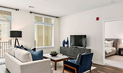 Living Room, The District Flats, 0